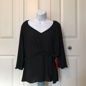 Jennifer Lopez Cinched Blouse NWT